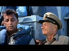 """The Enemy Below Theatrical Movie Trailer (1957). In this movie, """"The Enemy Below"""" is more about the dark side of human nature, and less about an enemy in a submarine."""