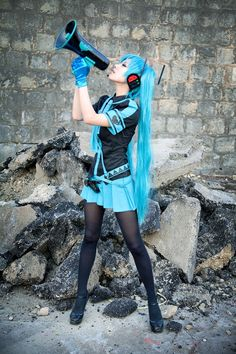 Vocaloid 2. Version. Love Is War. Character: Hatsune Miku. Team Cosplay: Spiralcats. Cosplayer: 타샤 - Tasha. From: South Corea.