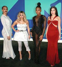 2017 MTV VMAs Red Carpet - Dinah Jane, Ally Brooke, Normani Kordei in Labourjoisie, and Lauren Jauregui ofFifth Harmony