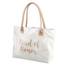 Lillian Rose Gold Maid of Honor Tote Bag - LRTR740MH