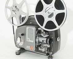 Bolex 18-5 Super 8mm Projector (1965) Movie Projector, Movie Camera, Portrait Photography, 1960s, Audio, Old Things, Mid Century, Tech, Memories