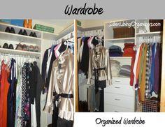 Silver Lining Organizers, LLC  Organized Wardrobe