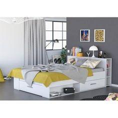 199.99 € ❤ OXYGENE #Lit adulte 140x190 cm blanc + rangements 3 tiroirs + 2 niches ➡ https://ad.zanox.com/ppc/?28290640C84663587&ulp=[[http://www.cdiscount.com/maison/meubles-mobilier/oxygene-lit-adulte-rangements-140x190-blanc/f-117600202-oxygene159569.html?refer=zanoxpb&cid=affil&cm_mmc=zanoxpb-_-userid]]