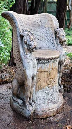 hell yesss-I collect Gargoyles and Griffins in my home. I need this chair!!