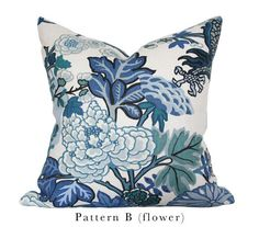 Chiang Mai Blue - Design B (Flower)