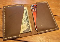 Leather Wallet / Men's Wallet / Handcrafted by BlackacreLeather