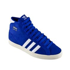 sports shoes 0337e 5c5da Adidas Basket Profi Hi Top - Blue  Running White - BNIB. RRP £64.99