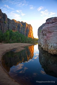 Windjana Gorge,Western Australia - ✈ The World is Yours ✈ #Beautiful #Places #Photography