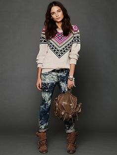 Intarsia Pullover. http://www.freepeople.com/whats-new/intarsia-pullover/