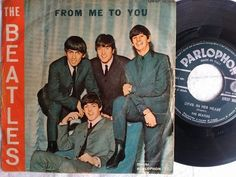 The Beatles From Me To You 1964 Vinyl 7 45 Rpm Italy Parlophon Rocknroll Rare Vinyl Records The Beatles Lp Records