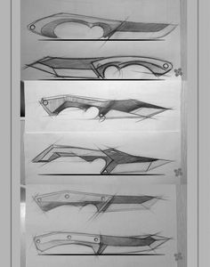 1000+ Images About Blade Runner - Design Drawimg On Pinterest | Knives Collector Knives And ...