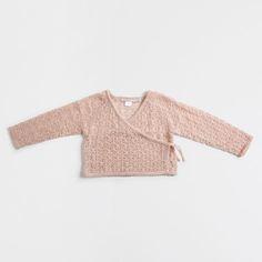 Veste ajourée croisée - Enfants - Vêtements & chaussures | Zara Home France