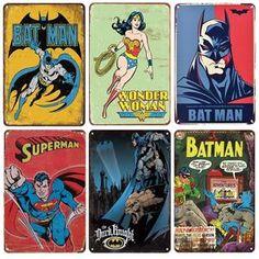 Marvel Wall Art, Marvel Comics Art, Metal Walls, Metal Wall Art, Vintage Cartoon, Vintage Wall Art, Painted Signs, Wall Signs, Mix Match