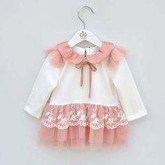 ロングスリーブ襟人形ミニネクタイの赤ちゃんの女の子のドレスのレースの卸売ファッションドレスブティックドレス仕入れ、問屋、メーカー・生産工場・卸売会社一覧