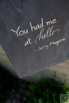 24. #Jerry Mcguire - 33 of the Most #Famous, Romantic Movie #Quotes ... → #Movies #Romantic
