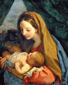 Carlo Maratta or Maratti - Maria mit dem Kind