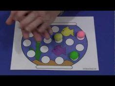 Fishbowl Playdough Mat