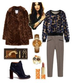 """""""151 followers """" by elphik ❤ liked on Polyvore featuring Zara, Chicwish, Charlotte Olympia, Tory Burch, ANNA, Michael Kors and Effy Jewelry"""