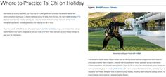 How to practice Tai Chi on Holiday? Health and Travel proposes you an answer: in SHA!