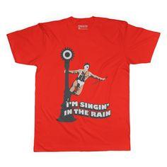 Singin In The Rain Adult Tee Shirt