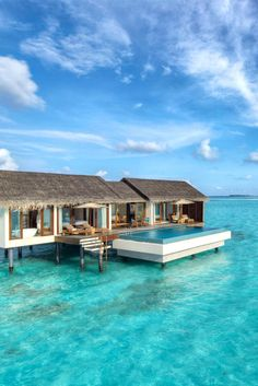 The Residence Maldives is set on a diminutive private island on a remote atoll. The Residence Maldives (Falhumaafushi, Maldives) - Jetsetter Vacation Places, Dream Vacations, Vacation Spots, Places To Travel, Weekend Vacations, Greece Vacation, Weekend Getaways, Visit Maldives, Maldives Resort
