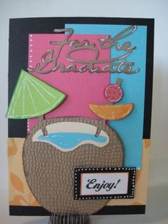 Ink and Paper Creations: Summer Blog Hop, pack your bags cart...nice job...