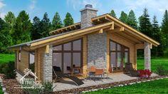 DREVOTREND® Slovakia - drevené domy a chaty
