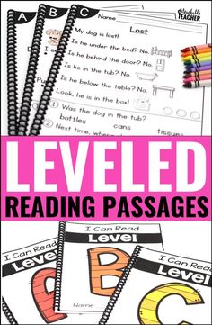 Leveled Reading Pass