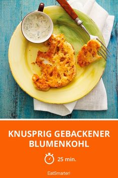 Knusprig gebackener Blumenkohl - smarter - Zeit: 25 Min. | eatsmarter.de