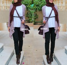 #hijabfashion #hijab #hijaboutfit #hijablookbook #hijabmodesty #hijabmuslim #hijablook #hijabi #chichijab #cairostyle #modestmode #modesty #summerfashion #hijablove #elegant #elegance #instafashion #fashionista #fashion #ootd #lookoftheday #lookbook #fashionstatement #hijabifashion #accessories #streetstyle #hijabstreetstyle #hijabystreetstyle #heels #boots #brown