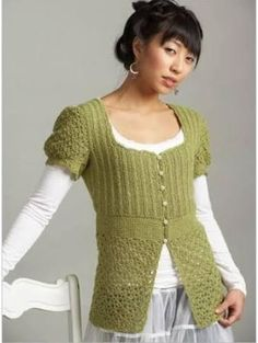 Interweave Product - Cupcake Sweater Crochet Pattern - By Tram Nguyen - Brought to you by Avarsha.com