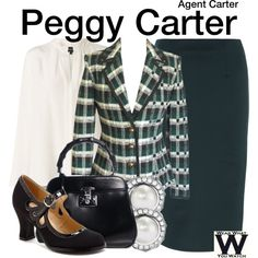 """""""Agent Carter"""" by wearwhatyouwatch on Polyvore"""