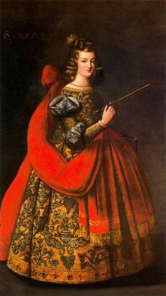 Saint Ursula by Francisco de Zurbaran (1598-1664)