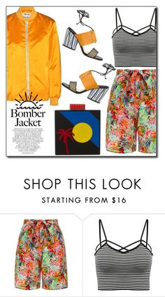 """Light Topping: Summer Bomber Jackets"" by dorinela-hamamci on Polyvore featuring Avon, Saloni, Les Petits Joueurs, Whiteley, bomberjackets, polyvorecontest and polyvoreditorial"