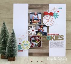 Christmas Cookies - Scrapbook.com