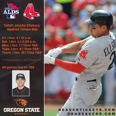 Check out Jacoby Ellsbury's schedule in the 2013 American League Divisional Series.