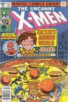 X-Men 123, cover