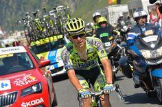 Tour de France 2015 - 15/07/2015 - 11ème Etape - Pau / Cauterets - Vallée de Saint-Savin- 188Km - C'est dans l'ascension du Tourmalet que Rafal MAJKA (TCS) a lâché ses compagnons de rout