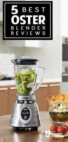 If you are going to make smoothies or thick shakes, you need a good blender. There are plenty on the market, and it can be hard deciding which one will serve you best.  I realize when shopping for a blender, it's important to know what you're getting. That's why I've compiled this list with reviews of the best Oster blenders available to help you decide if any of the Oster blenders are right for you.  Click the link to read more...  #greenthickies #oster #osterblender #blender #bestblender Best Smoothie Blender, Oster Blender, Smoothie Cup, Good Smoothies, Weight Loss Smoothie Recipes, Green Smoothie Recipes, Healthy Blender Recipes, Whole Food Recipes
