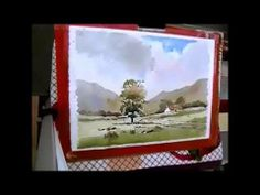 ▶ loose watercolor landscape with Alan Owen - YouTube