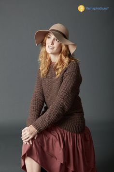 CAL: Big Easy Crochet Pullover by Yarnspirations - B.hooked Crochet