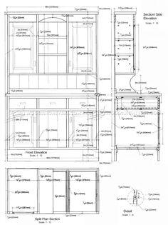 Kitchen Dresser Plans - Furniture Plans