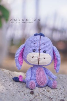 Toys Patterns winnie the pooh Eeyore Crochet Pattern (Winnie the Pooh) Disney Crochet Patterns, Crochet Disney, Crochet Animal Patterns, Crochet Geek, Stuffed Animal Patterns, Crochet Patterns Amigurumi, Cute Crochet, Amigurumi Doll, Crochet Animals