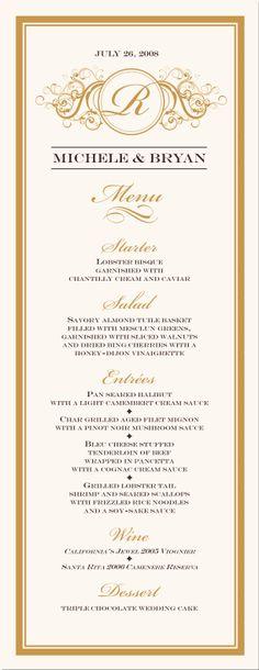 golden rod menu