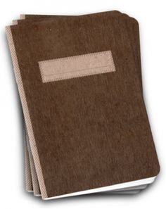 50% OFF! Scout Book 3Pack - Brown | Assembleshop
