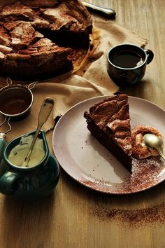 Chocolate meringue cake by Nina Gabelica (recipe by Donna Hay)