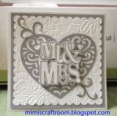 Cricut Explore quick elegant wedding card using write and cut feature.  Cricut Artbooking and Sweetheart cartridges. Go to Mimiscraftroom.blogspot.com for instructions.