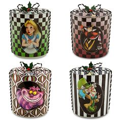 Alice in Wonderland Glass Candle Holder Set | Home Accents | Disney Store