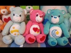 Amigurumi crochet Care Bear tutorial part 1 - YouTube