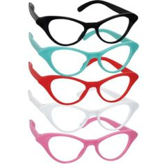 @Brooke Gary  Classic 50s Cat-Eye Glasses 10ct - Party City party favors to play with on the tables